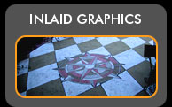 Inlaid Concrete Floor Graphics